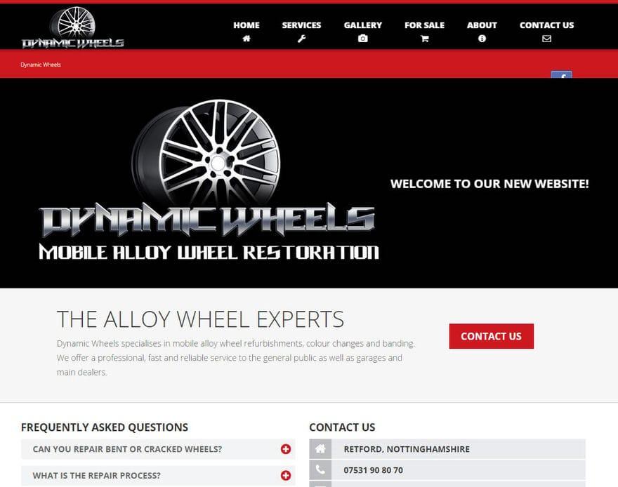 Dynamic Wheels Ltd. Homepage